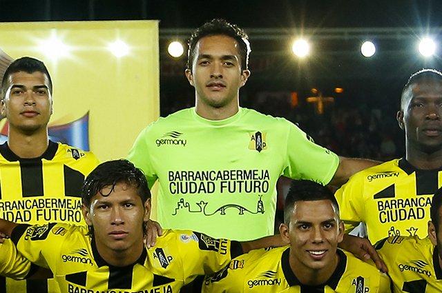 El portero Ricardo Jerez se convirtió en capitán de Alianza Petrolera y su equipo de forma histórica llegó a cuartos de final en Colombia. (Foto Prensa Libre: Hemeroteca)