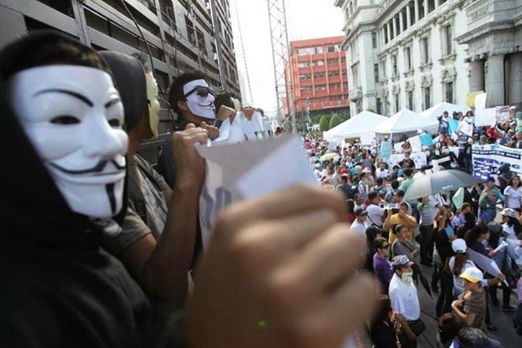 EL grupo Anonymous es una organización internacional. (Foto Prensa Libre: Hemeroteca PL)