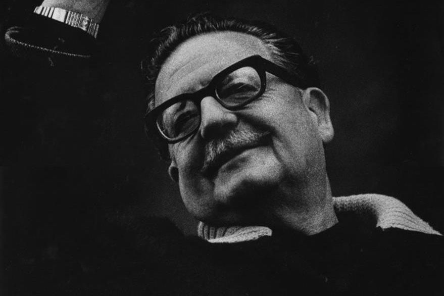 El presidente de Chile, Salvador Allende Gossens, meses antes de su muerte. (Foto: Hemeroteca PL)