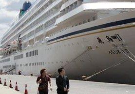 Los cruceros atraen la mayor cantidad de turistas.