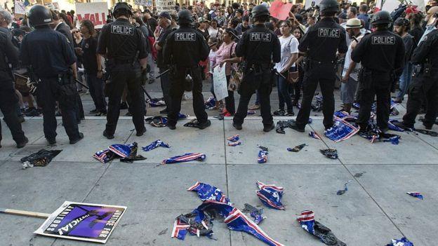 En California como en el resto del país ha aumentado la polarización política.