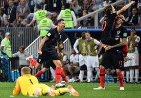 La selección de Croacia avanza a la final de Rusia 2018.