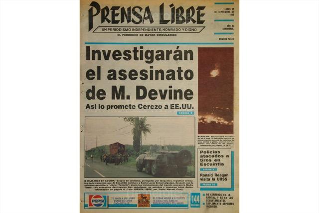 Portada de septiembre de 1990. (Foto: Hemeroteca PL)