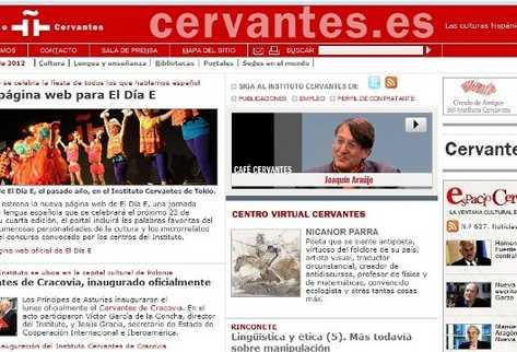 El Instituto Cervantes estrena biblioteca virtual