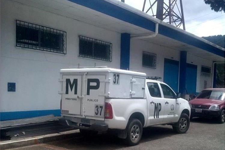 Hospital Distrital de Nebaj, donde ocurrió el robo. (Foto Prensa Libre: Óscar Figueroa).