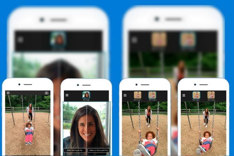La app se sincroniza con el carrete de fotos del iPhone o del iPad. (Foto Prensa Libre: Microsoft)