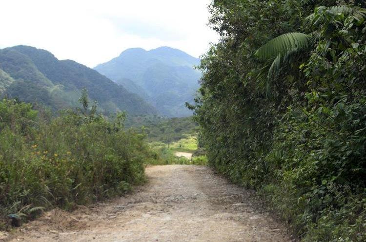 La ruta que conduce de San Pedro Carchá hacia la Franja Transversal del Norte se muestra abandonada en varios tramos(Foto Prensa Libre: Hemeroteca PL)