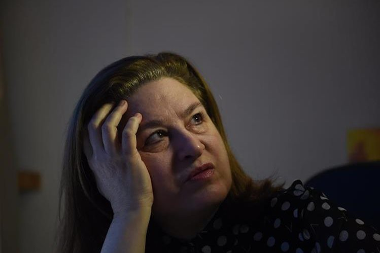 La periodista francesa Ursula Gauthier, fue expulsada de China. (Foto Prensa Libre: AFP).
