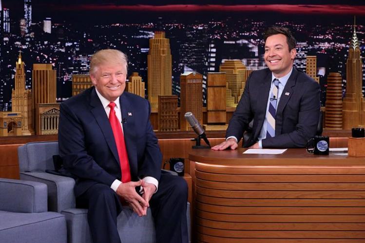 Sé un hombre Jimmy Fallon: Donald Trump