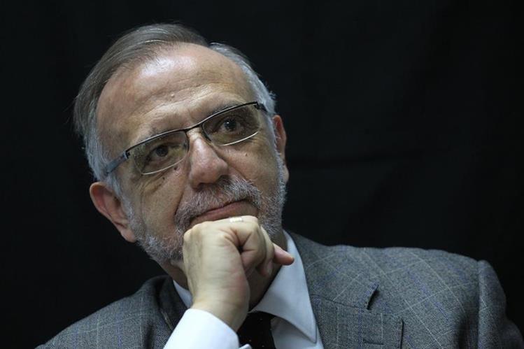 Iván Velásquez Gómez. Comisionado de la CICIG (Comisión Internacional contra la Impunidad en Guatemala). (Foto Prensa Libre: Esbin García)