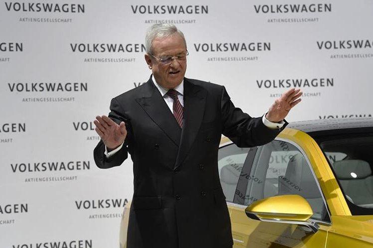 Martin Winterkorn, presidente de Volkswagen, renunció hoy al cargo tras escándalo de manipulación en los vehículos. (PL-AFP)