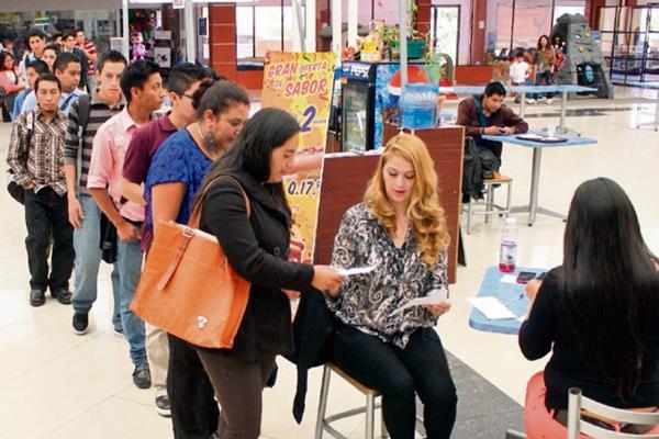 Empresarios tienen poca intención de contratar más personal para sus negocios en el próximo trimestre.