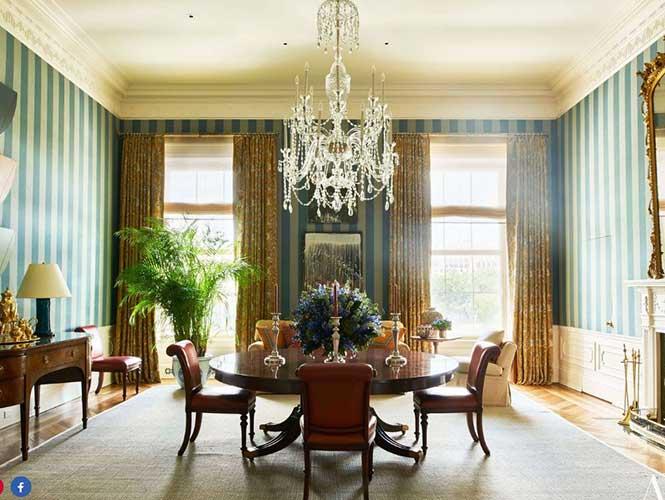 Otra habitación de la Casa Blanca. (Foto:  Architectural Digest).