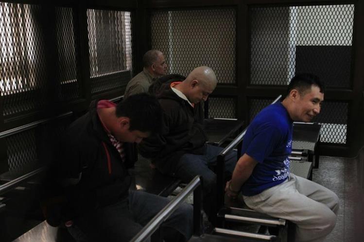 Tres de los cuatro señalados en la muerte del corresponsal de Prensa Libre, enfrentarán juicio. (Foto Prensa Libre: Carlos Hernández Ovalle)