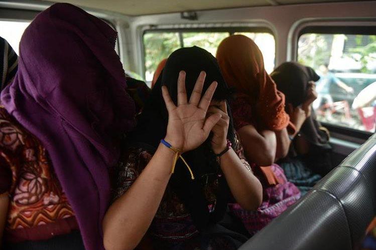 Rescate de menores víctimas de explotación laboral efectuado en octubre de 2013. (Foto Prensa Libre: HemerotecaPL)