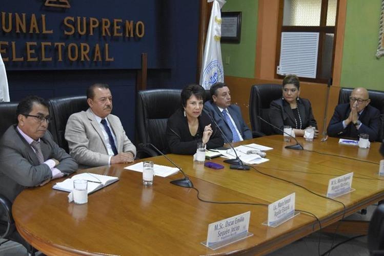 Magistrados rechazan la intención de los diputados de poner controles, ya que le restaría independencia a los jueces electorales. (Foto Prensa Libre: Hemeroteca PL)