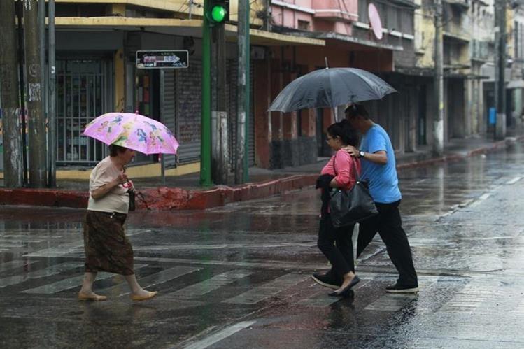 Esta semana se espera clima inestable por lo que podría haber lluvia. (Foto Prensa Libre: Hemeroteca PL)