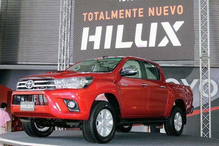 Lanzamiento de la octava generación de pickup 2016. (Foto Prensa Libre)