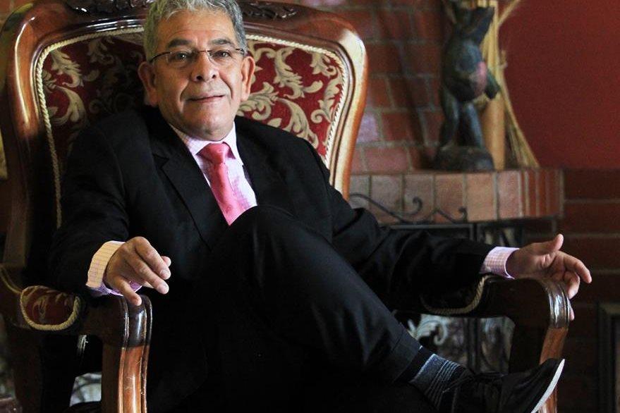 Miguel Ángel Gálvez ha laborado 18 años en el Organismo Judicial. (Foto Prensa Libre: Esbin García)