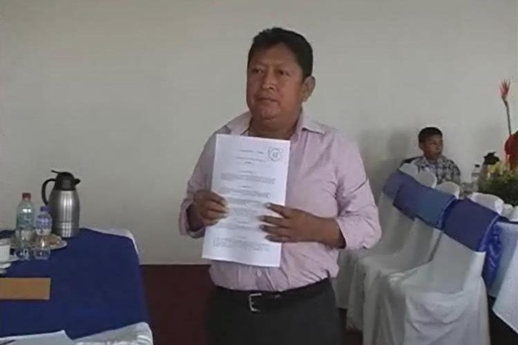 Santos Calel, fungió como alcalde de San Bartolomé Jocotenango, Quiché.(Foto Prensa Libre: Héctor Cordero)