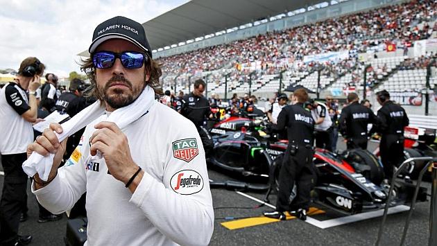 La escudería McLaren espera que Fernando Alonso cumpla el año que le resta de contrato. (Foto Prensa Libre: Hemeroteca)