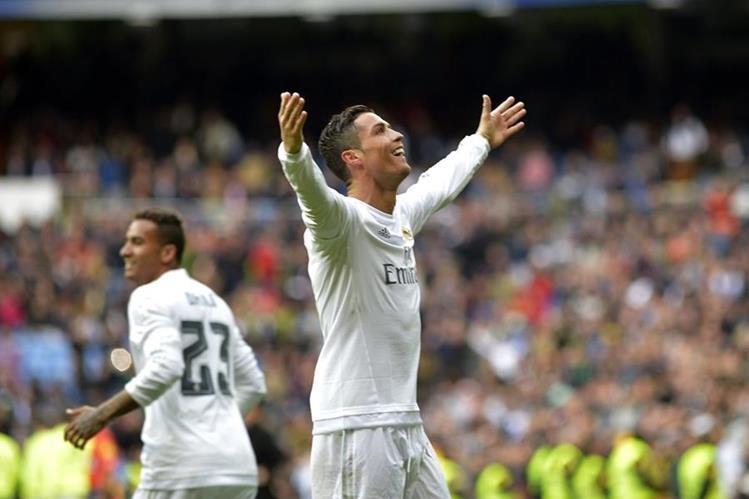 El portugués Cristiano Ronaldo marcó cuatro goles el fin de semana contra el Celta. (Foto Prensa Libre: EFE)