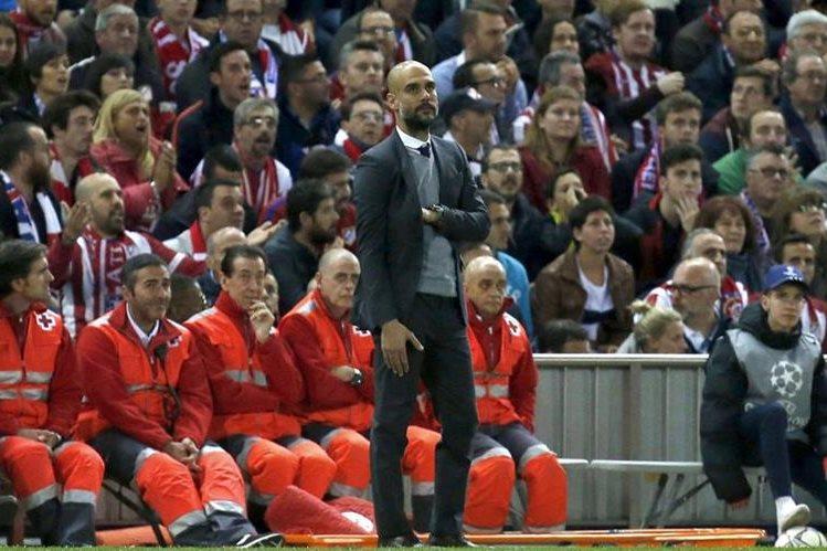 Pep Guardiola y el Bayern Munich deberán remontar la serie que tienen en contra (1-0) contra el Atlético de Madrid. (Foto Prensa Libre: Hemeroteca)