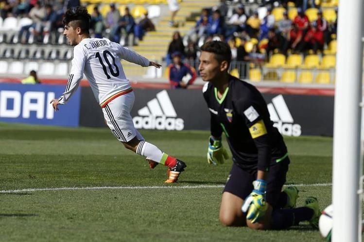 México es la unica selección latinoamericana que aun está en el Mundial. (Foto Prensa Libre: AFP)