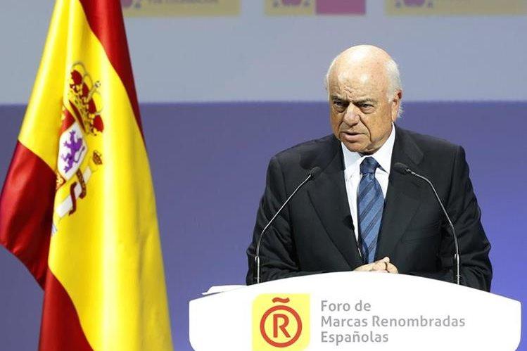 Francisco González, presidente de BBVA. (Foto Prensa Libre: EFE)
