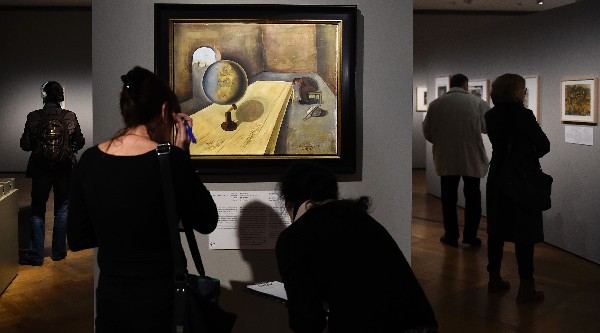 En Alemania se exhibe la muestra Arte en el Holocausto. 100 obras de Yas Vashem. (Foto Prensa Libre: AFP)