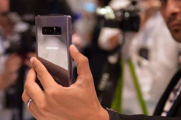 La doble cámara es una de las novedades del nuevo Galaxy Note. AFP