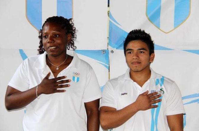 Mirna Nolberto y José Ramos, de judo, mantiene la opción de sellar el pase a los Juegos Olímpicos. (Foto cortesía COG).
