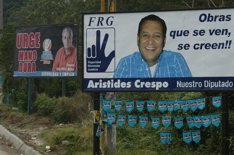 En contiendas electorales anteriores era común ver a los candidatos promocionarse antes de la convocatoria a elecciones. (Foto Prensa Libre: Hemeroteca PL)
