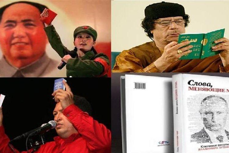 Varios mandatarios publicaron libros a su conveniencia, entre ellos Vladimir Putin.