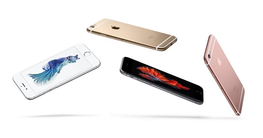 El iPhone 6s en su versión más económica (US$650), ofrece solo 16GB, mientras que sus principales rivales incluyen al menos 32GB. (Foto Prensa Libre: Apple).