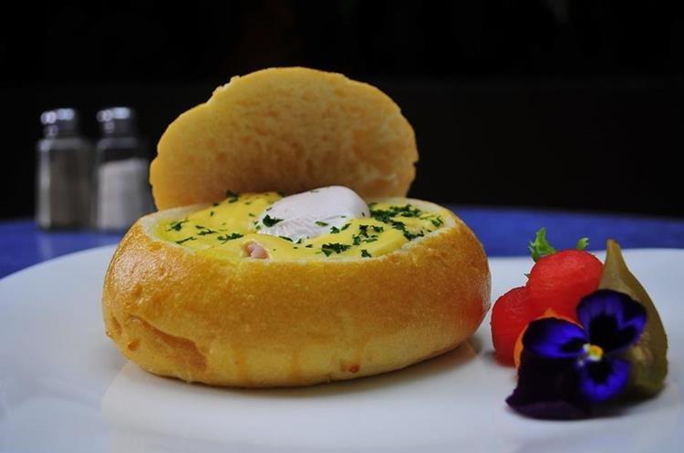 Un rico desayuno para comenzar el día con mucha energía.(Foto Prensa Libre: Sandra Vi)