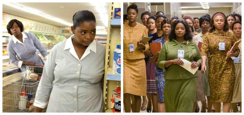 Octava Spencer actúo en The Help y ahora en Talentos Ocultos, dos películas que abordan el tema de la discriminación racial. (Foto Prensa Libre: YouTube)