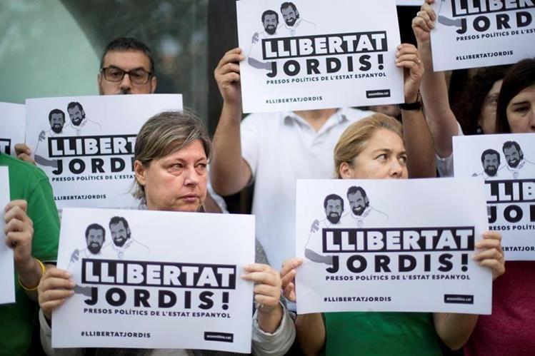 Los catalanes han manifestado incesantemente su deseo de independizarse de España. (Foto Prensa Libre: Hemeroteca PL)
