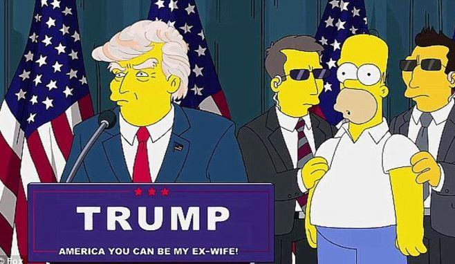 (Fotograma del capítulo original de la serie de Los Simpson).