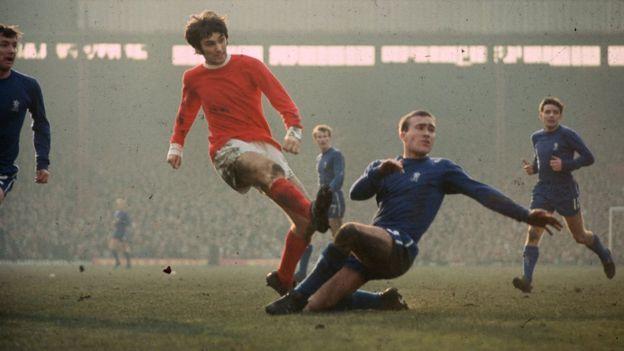 George Best, uno de los mejores jugadores en la historia del Manchester United, había sido rechazado por el Glentoran de Irlanda antes de fichar por los diablos rojos. Getty Images