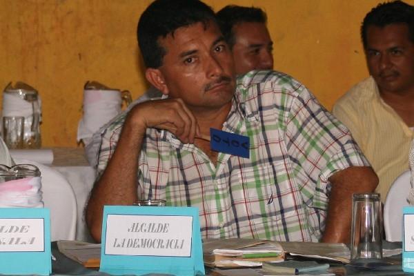 Ramón Soto, en reunión del Consejo Departamental de Desarrollo, en el 2010.