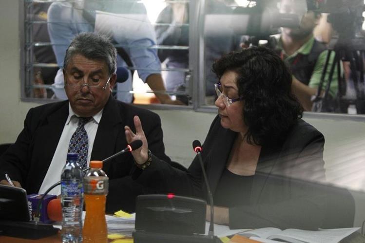Jueza Cuarta de Instancia Penal Jisela Reinoso Trujillo, tiene previsto rendir su primera declaración hoy. (Foto Prensa Libre: Hemeroteca PL)