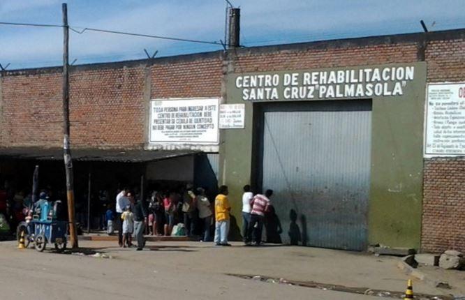 La cárcel de Palmasola donde ocurrió el macabro hallazgo. (Foto: Infobae).