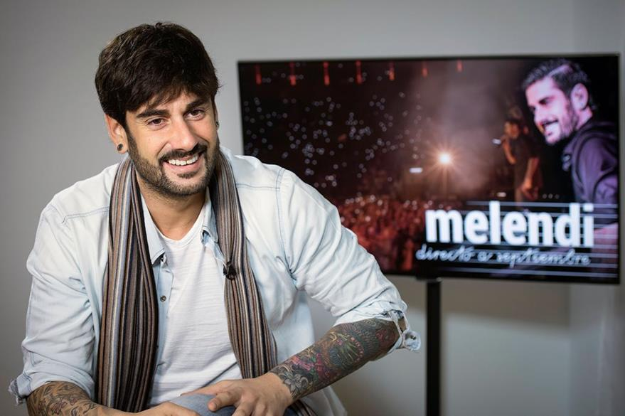 El cantante español Melendi será padre en 2016.  (Foto Prensa Libre: EFE)