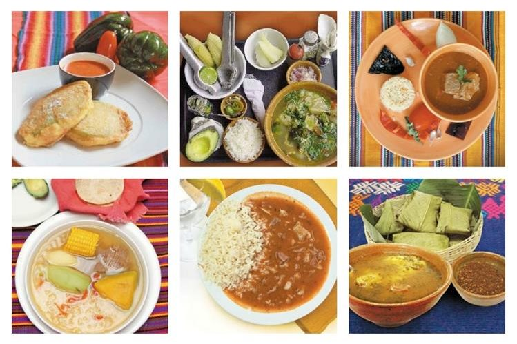 La gastronom a guatemalteca encanta a multitudes for Comida mas famosa de francia