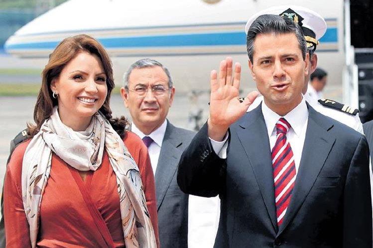 En septiembre del 2012, el presidente Enrique Peña Nieto estuvo en el país para reunirse con su entonces homólogo, Otto Pérez Molina. (Foto Prensa Libre: Hemeroteca PL)