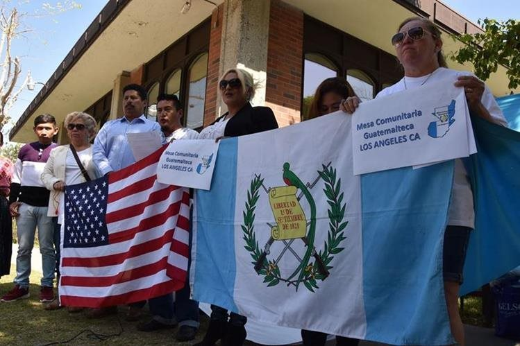 Centroamericanos que viven en Los Ángeles, fueron honrados con la proclamación del 22 de noviembre como su día. (Foto Prensa Libre: Hemeroteca PL)