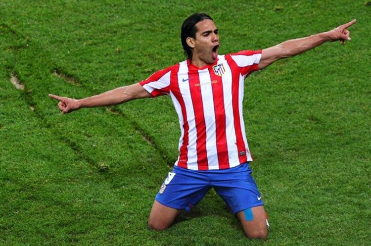 Falcao ha sido señalado de fraude fiscal cuando militaba en el Atlético de Madrid de España. (Foto Prensa Libre: Hemeroteca PL)