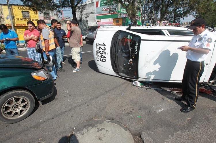Cada año mueren decenas de personas en la capital como consecuencia de accidentes de tránsito. (Foto Hemeroteca PL)