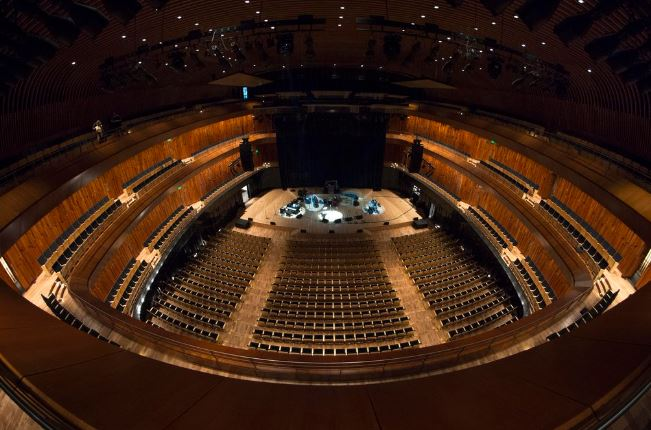 Panorámica de la sala de conciertos del CCK, uno de los más emblemáticos monumentos de Argentina. (Foto Twitter/@elCCKoficial).